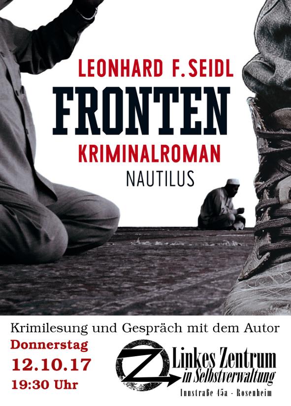 Lesung Fronten Rosenheim